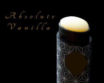 Vanilla Lip Balm Triple Vanilla, Real Vanilla, Pure Vanilla, Natural lip balm, Handmade small batch Vegan lip balm