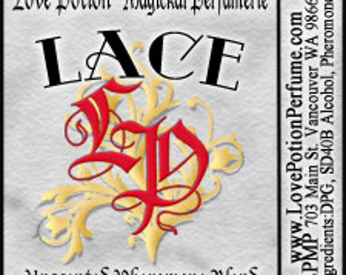 PHEROTINE! LACE for Women ~ Pheromone Blend - Limited Ed UNscented Pheromone Trials by Love Potion Magickal Perfumerie
