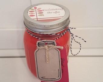 Country Mason Jar Soy Candles