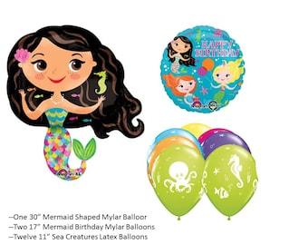 Mermaid Balloons