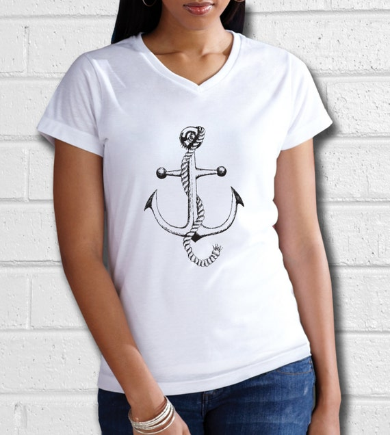 Anchor T Shirt Women S