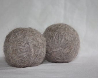 100% Wool Dryer Balls, Laundry Softener