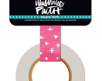 She Blooms Criss Cross washi tape