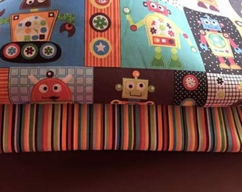 Little Gears crib bedding set