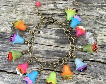 Colourful fun and funky bracelet