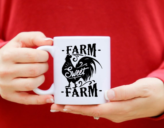 FARM SWEET FARM | Message Mugs | 11 oz.