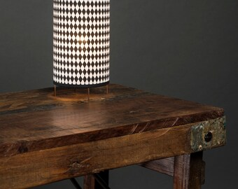 Luminaire with a strike - day fabric