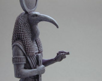 Thoth (Tehuti) Egyptian God of Knowledge Statue Sculpture. Ancient Egypt. Egyptology.