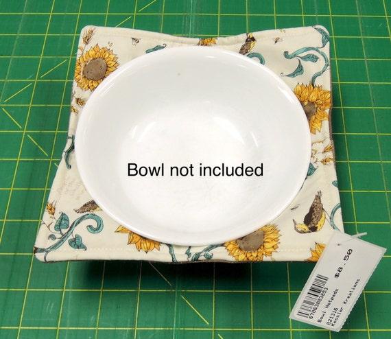 Bowl Pot Holder: Bowl Hotpad. Hot Pad Pot Holder Sunflowers By