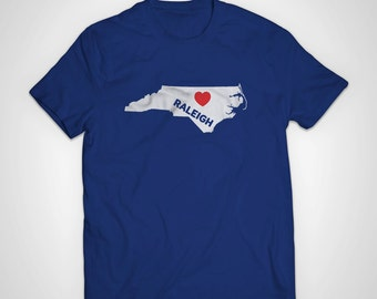 Raleigh Love American Apparel T-Shirt