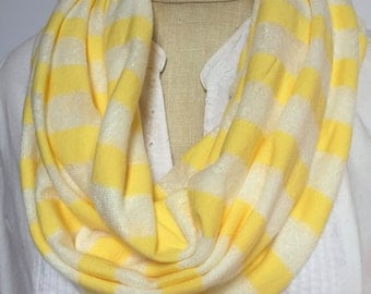 Items Similar To Mustard Yellow And White Striped Knit