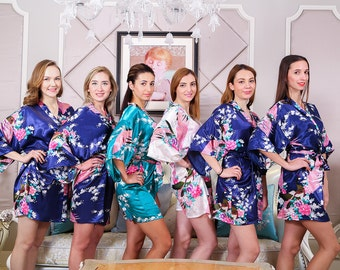 Satin1 Women Night Robes Zip Front Robes Short Terry Cloth Robe Vintage Chenille Robes  Cotton Robes Yellow Satin Robe Hotel Bathrobes Set