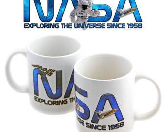 NASA Exploration Mug