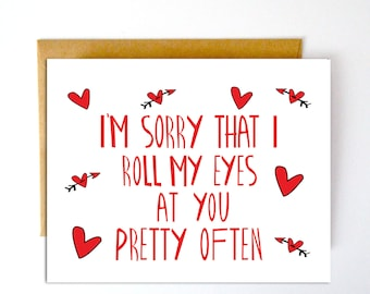 Funny Valentines Day Card, Valentines Card, Funny Love Card, Greeting Card, Card for Him, Funny Card, Love Card, Valentine Card