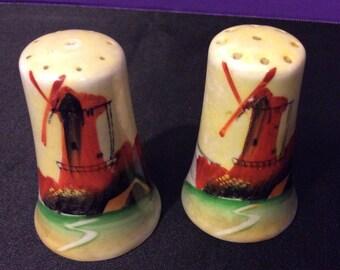 Windmill Salt and Pepper Shaker Set