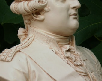 "Bust of King Louis XVI of France (10.2"")"