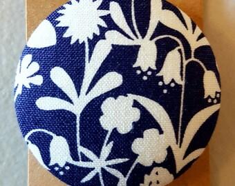 Fabric Brooch 45mm