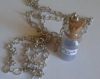 Drink Me Necklace