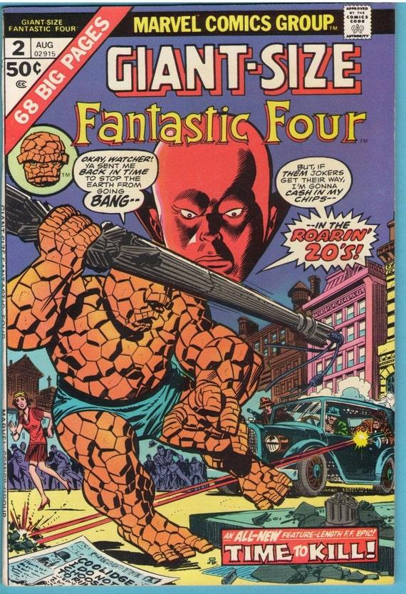 Giant-Size Fantastic Four 2 Aug 1974 VF+ (8.5)