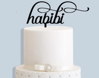 Habibi Cake Topper