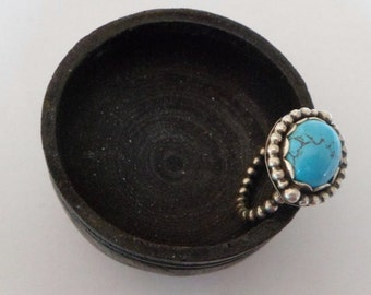 Turquoise Bead Ring