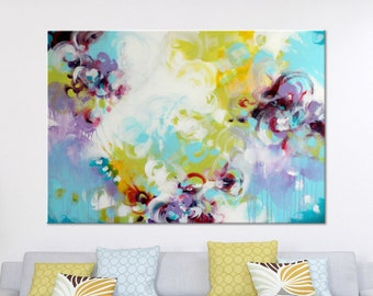 Original abstract painting Large Wall art Abstract art Abstract wall art Painting on Canvas Art Modern artwork Contemporary Blue painting