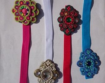 soutache, soutache headband, headband soutache, soutache necklace, soutache necklace, bracelet, earring, necklace, earring, necklace soutache