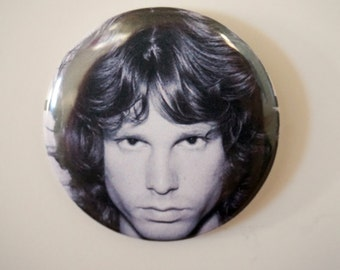 Jim Morrison Staring into your SOUL Pin