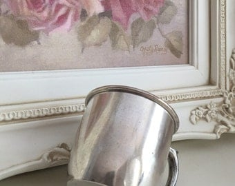 Silver Baby Cup by Rogers Brother