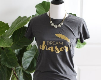 Graphic Tee: DREAM CHASER