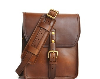 Vertical Leather Satchel   Small Leather Bag   Leather Ipad Bag   Leather Shoulder Bag   Leather Crossbody Bag   Womens Leather Satchel