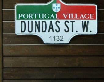Toronto Street Sign - Portugal Village