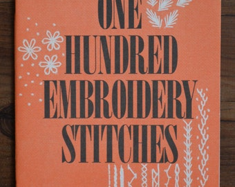 Vintage Coats and Clark's 100 Embroidery Stitches number 150-b
