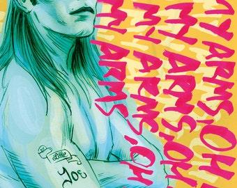 Joe Dallesandro ft Nick Cave and the Bad Seeds (signed prints) © Iván García