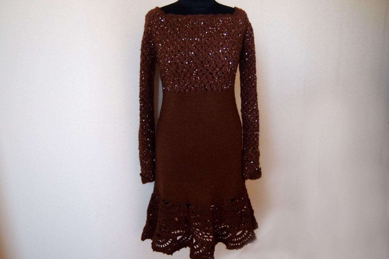 Knit dress patterndetailed tutorialcrochet dress patternknit this is a digital file bankloansurffo Gallery