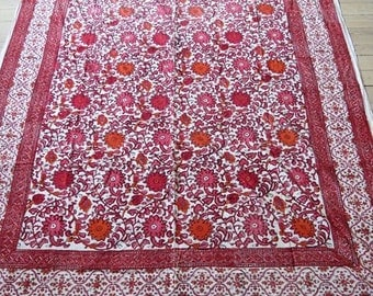 Indian cotton cloth /  textile / bed spread
