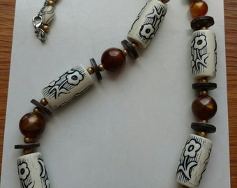 Lovely beaded necklace