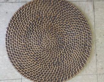 Round Rattan Placemat Set