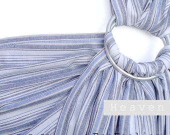 Baby ring sling, Baby carrier, Baby wrap, Sling, Ring sling, GuGaSling Heaven, Cotton, Old shcool, Gift bag