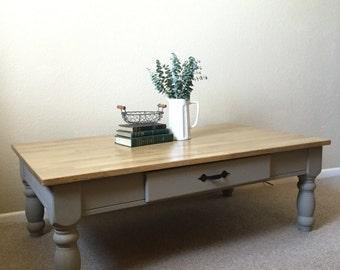 Modern Farmhouse Restored Coffee Table