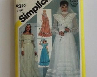 Vintage Simplicity GUNNE SAX Dress Pattern, Miss Size 8, Simplicity 5217, Sewing Pattern, Vintage Pattern, GladstoneCottage