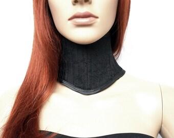 Black neck corset Gothic