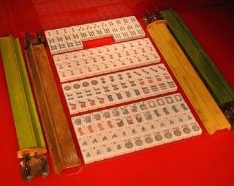 E.S. Lowe VTG 60s-70's Bakelite Mah Jong Set
