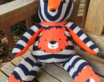 Bear made from baby sleeper with matching sleeper