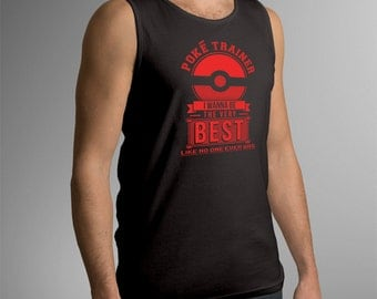 "Pokemon ""Poke Trainer"" Men's Tank Top"