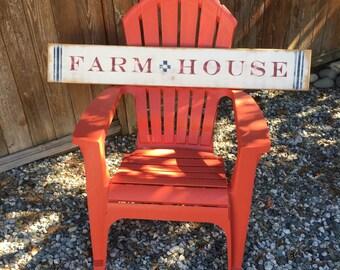 Vintage style Farm House sign