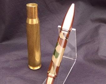 50 Caliber Machine Gun Cartridge Flip Pen