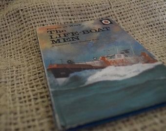 The Lifeboat Men. A Vintage Ladybird book. Series 606B. First Edition.