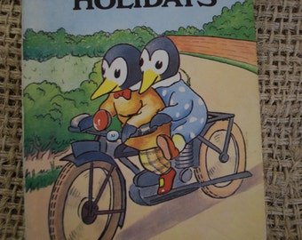 The First Day of the Holidays. A Vintage Ladybird Book. 1980