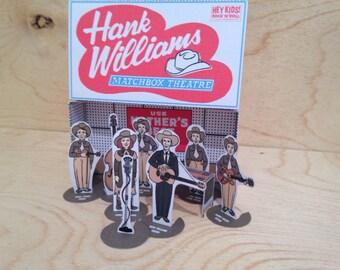 Hank Williams Matchbox Theatre Country Music Diorama